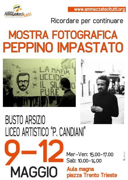 Mostra Fotografica Peppino Impastato